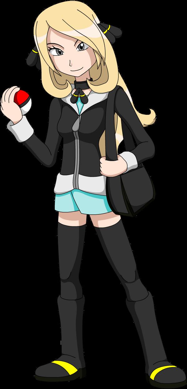 Pokemon Young Cynthia By LucarioShirona On DeviantArt