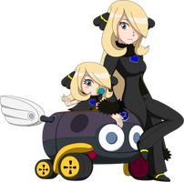 Pokemon Kart - Cynthia's BiddyBuggy by LucarioShirona