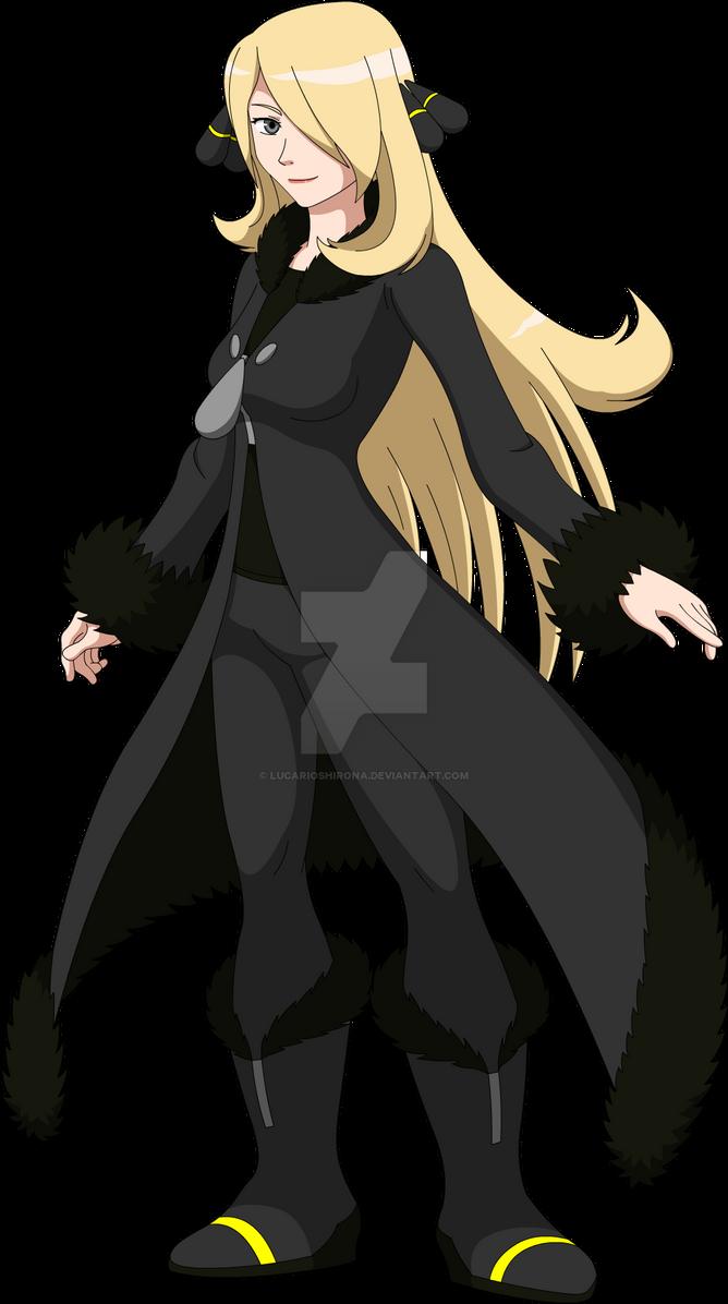 Champion Cynthia - Pokken Style by LucarioShirona on ...