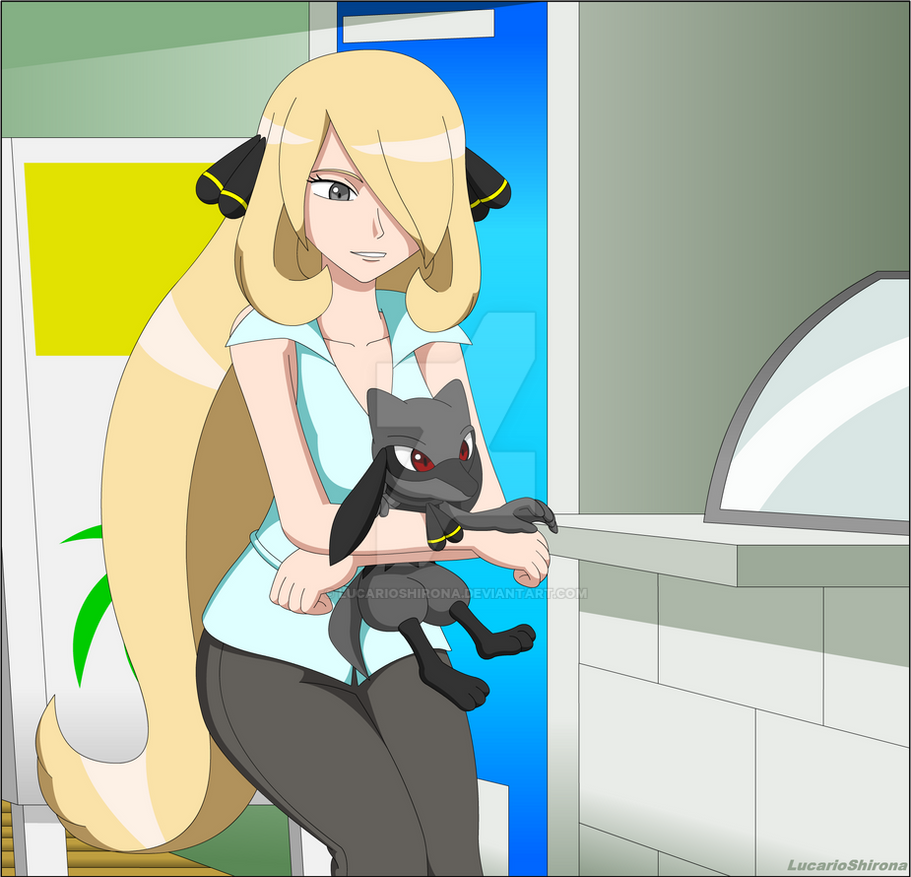 Cynthia and Hypon - Getting Ice Cream by LucarioShirona on ...