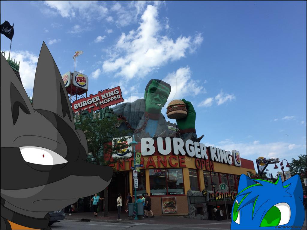Burger King Th Ames Dog Food