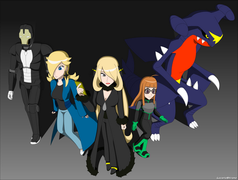 Shattered Dimensions - Team Cynthia
