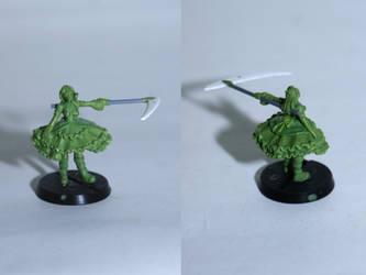 Cybergothic Lolita Yoko (Green) by ArchonSzczecina