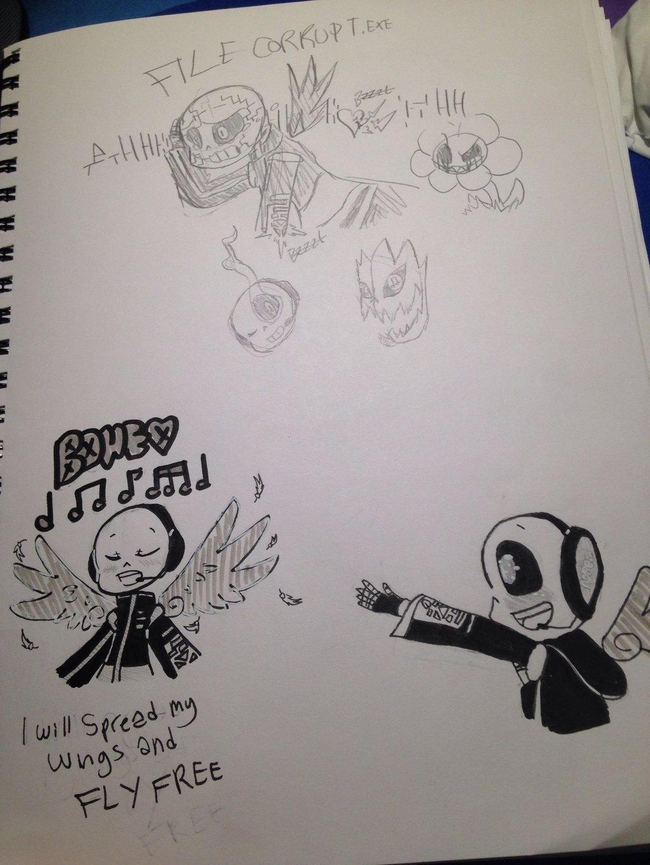Bones!sans (me/my persona) by Underfeels-AU