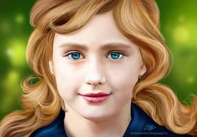 Girl photo study by Khushiart
