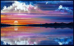 Sky by Khushiart