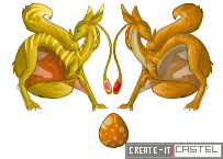 Dorrel Dragon Sprites-First attempt by Create-ItCastel