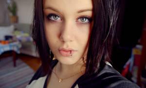 Black-haired