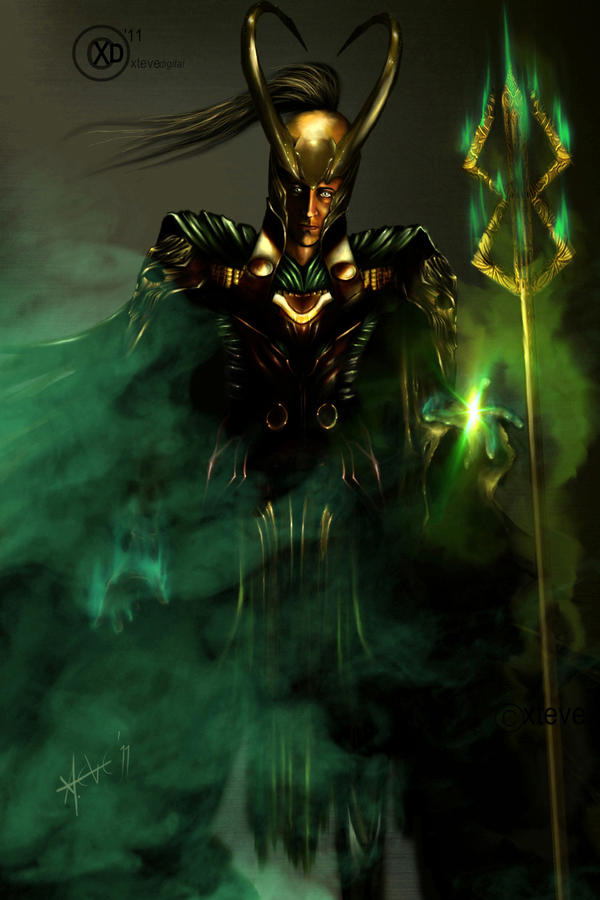 The God of Mischief by XteveAbanto on DeviantArt