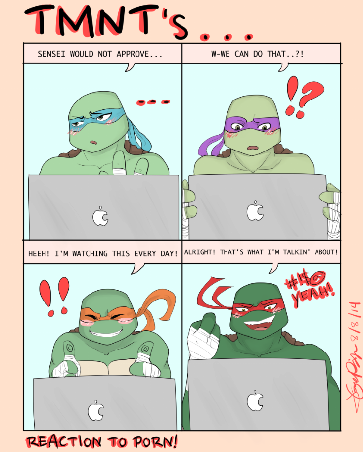 Tmnt Leo X Reader Lemon - 0425