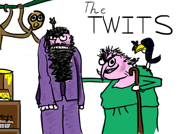 The Twits by thegreyhatter on DeviantArt