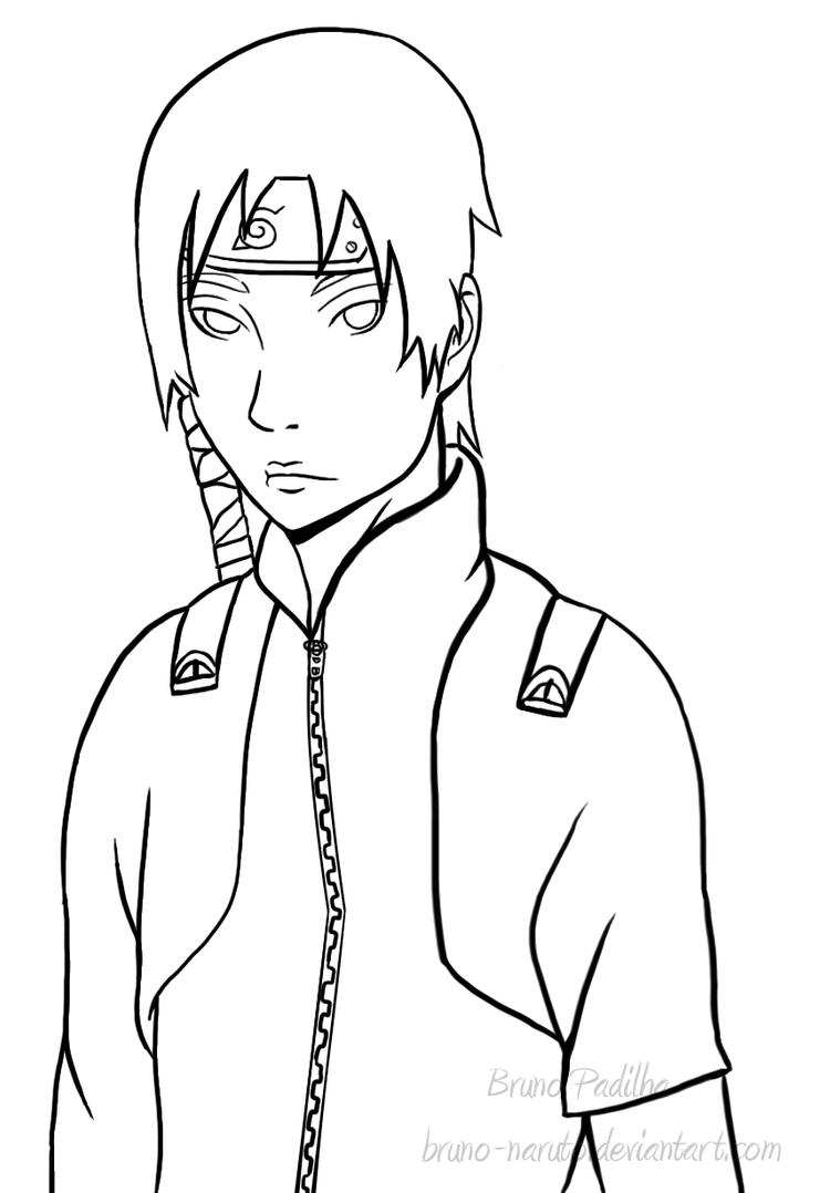 Lineart In Sai : Lineart sai by bruno naruto on deviantart