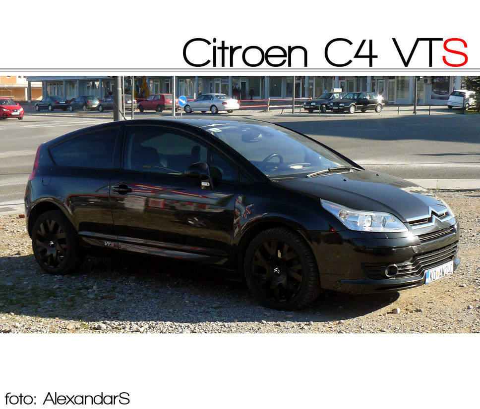 citroen c4 vts by alexandarsh on deviantart. Black Bedroom Furniture Sets. Home Design Ideas