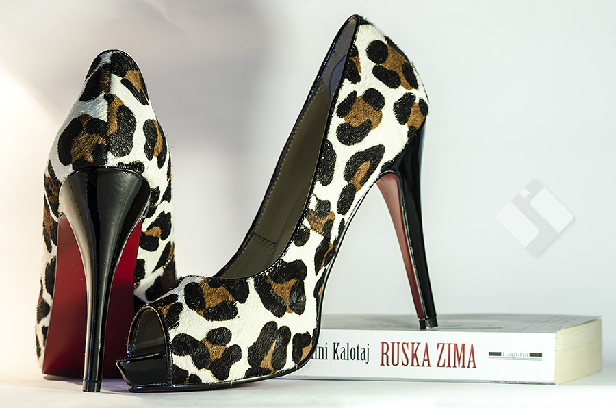 Cow Leather Heels by Al3k5aNd4R