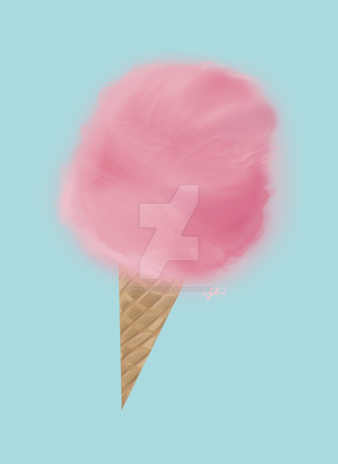 Cotton Candy Doodle by Chigucactus