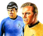KIRK and SPOCK for now