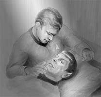 Kirk's main worry by Emushi