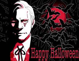 Kirk at Halloween by Emushi