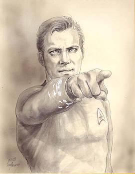 Captain Kirk Doodle