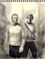 To boldly go! and Happy birthday Mr. Bill Shatner by Emushi