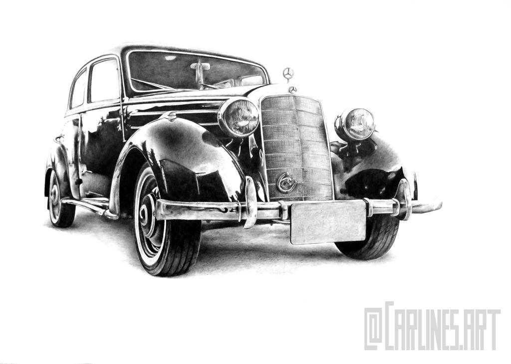 170 s oldtimer mercedes benz by carlines on deviantart. Black Bedroom Furniture Sets. Home Design Ideas
