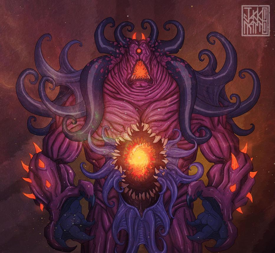 Azathoth Vs Cthulhu Cthulhu Mythos Deity #...