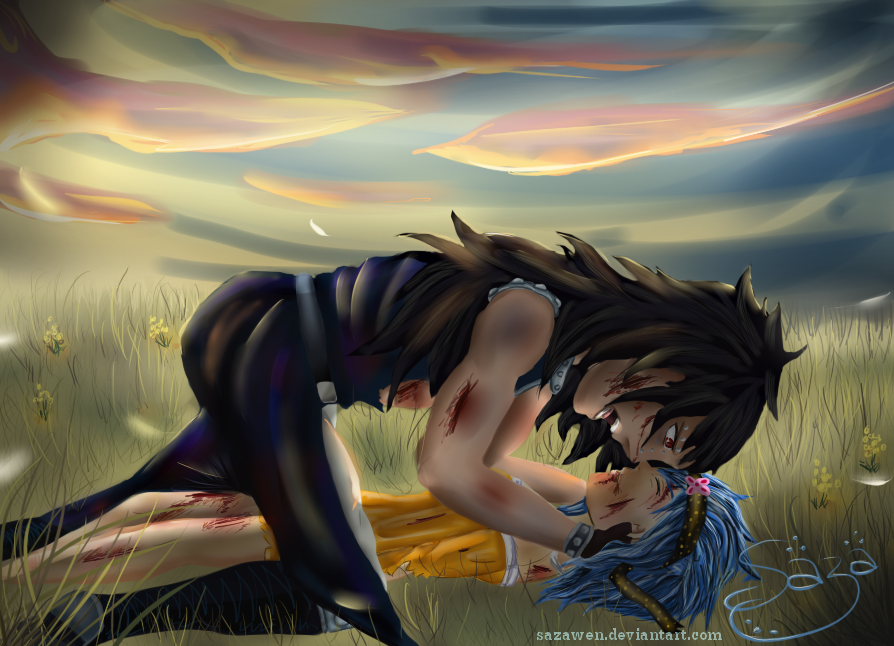 GaLe ~ I don't allow you to die! by Sazawen