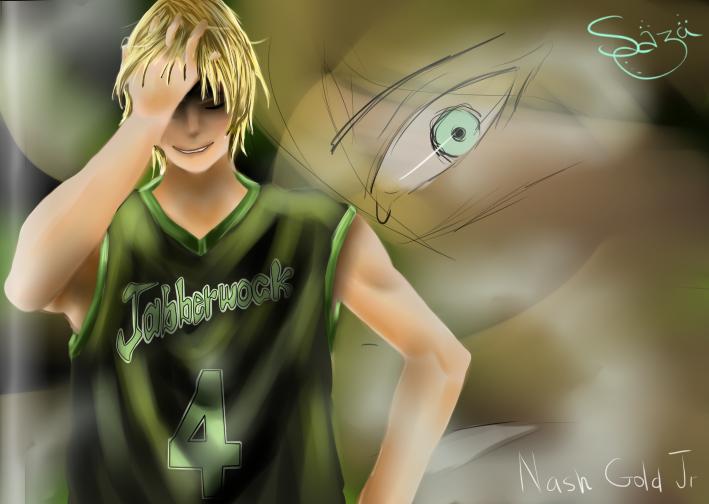 Kuroko no Basket ~~ Nash Gold Jr Jabberwock by Sazawen