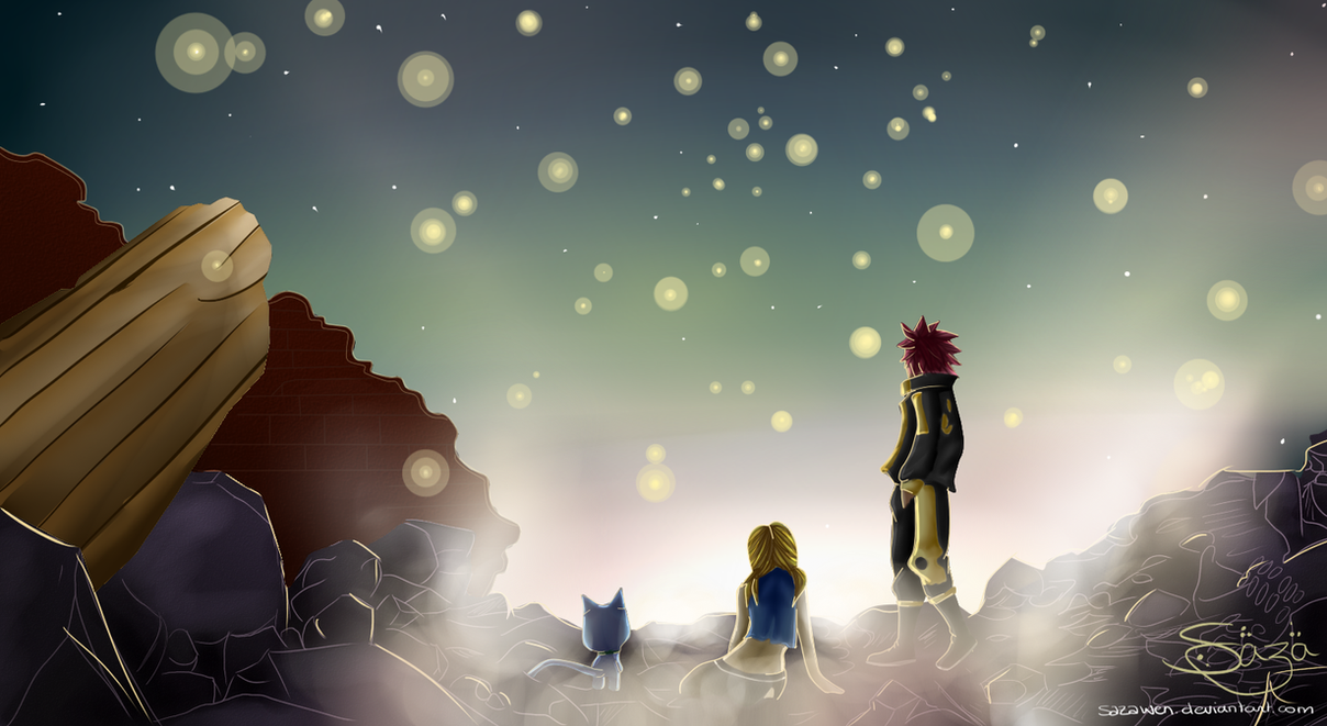 Fairy Tail 379~~ Souls are going home (NaLu) by Sazawen