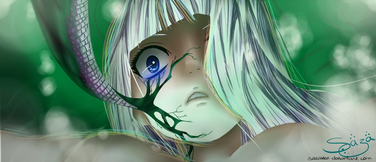 Fairy Tail 371 ~~ Mirajane by Sazawen