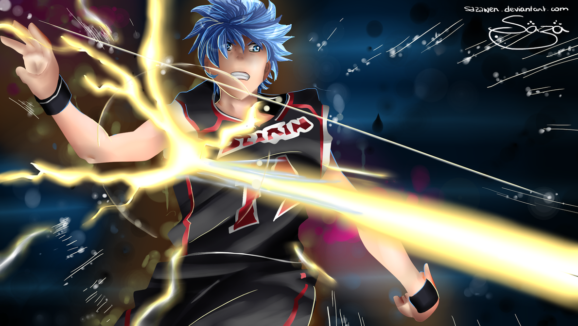 Kuroko no basket ~~ Ignite Pass Zone 2 by Sazawen