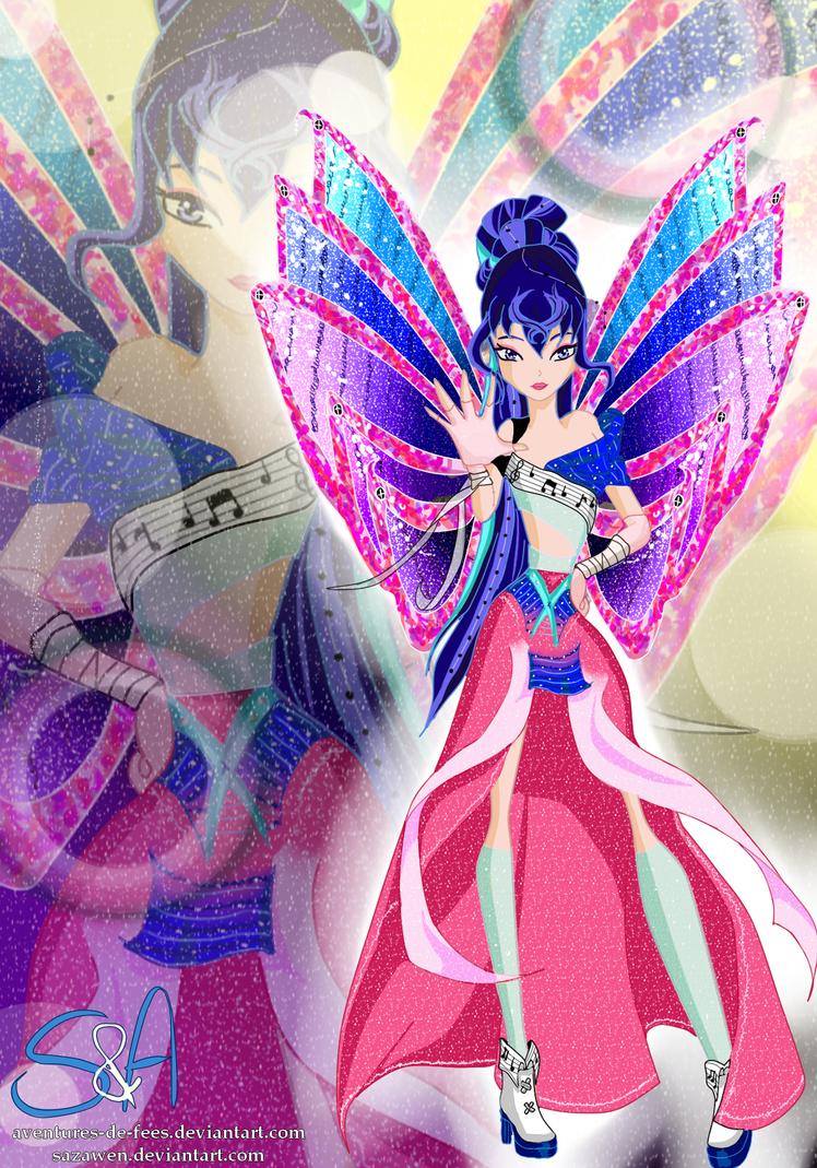 Musa's transformation Season 8 by Sazawen
