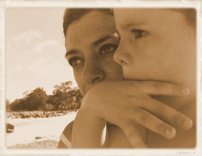On The Beach by angelbabiau