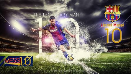 Messi Wallpaper -001 by slimane47