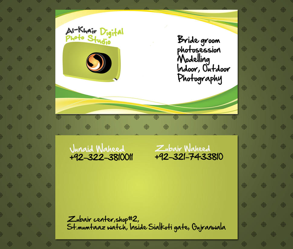 Photography Studio Card by ahsanpervaiz on DeviantArt
