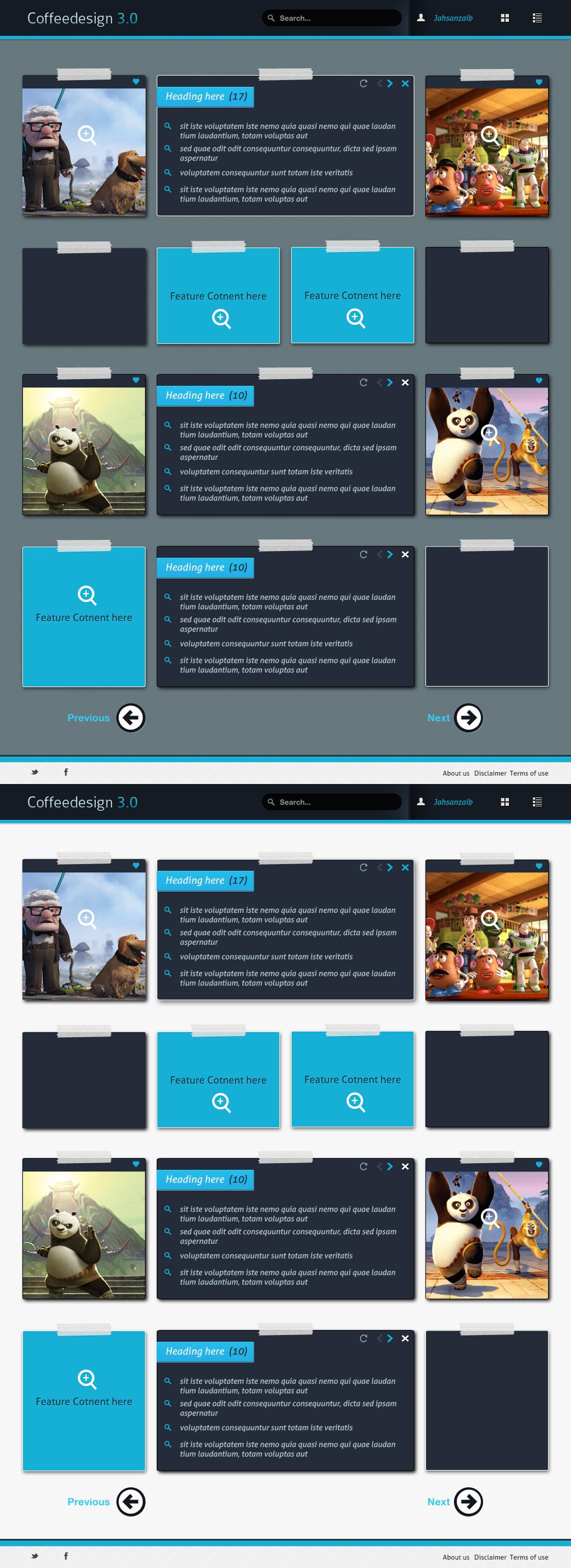 Coffeedesign 3 Blog Layout By Ahsanpervaiz On DeviantArt