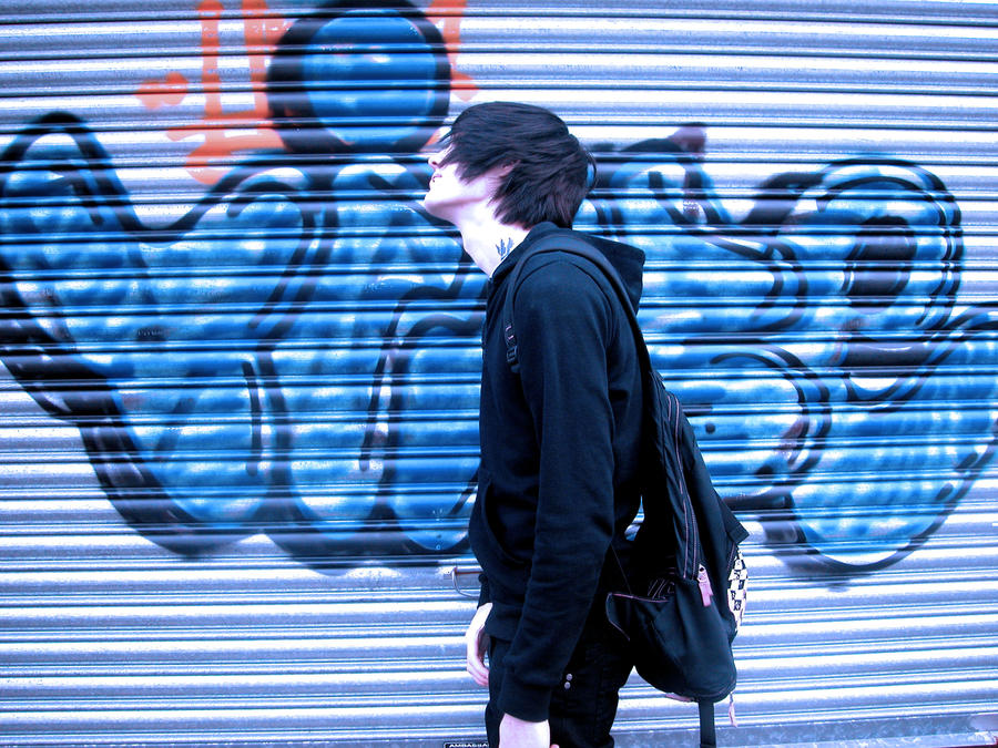 Contrast Graffiti Photoshoot 5 by Suckstobeyourgirl
