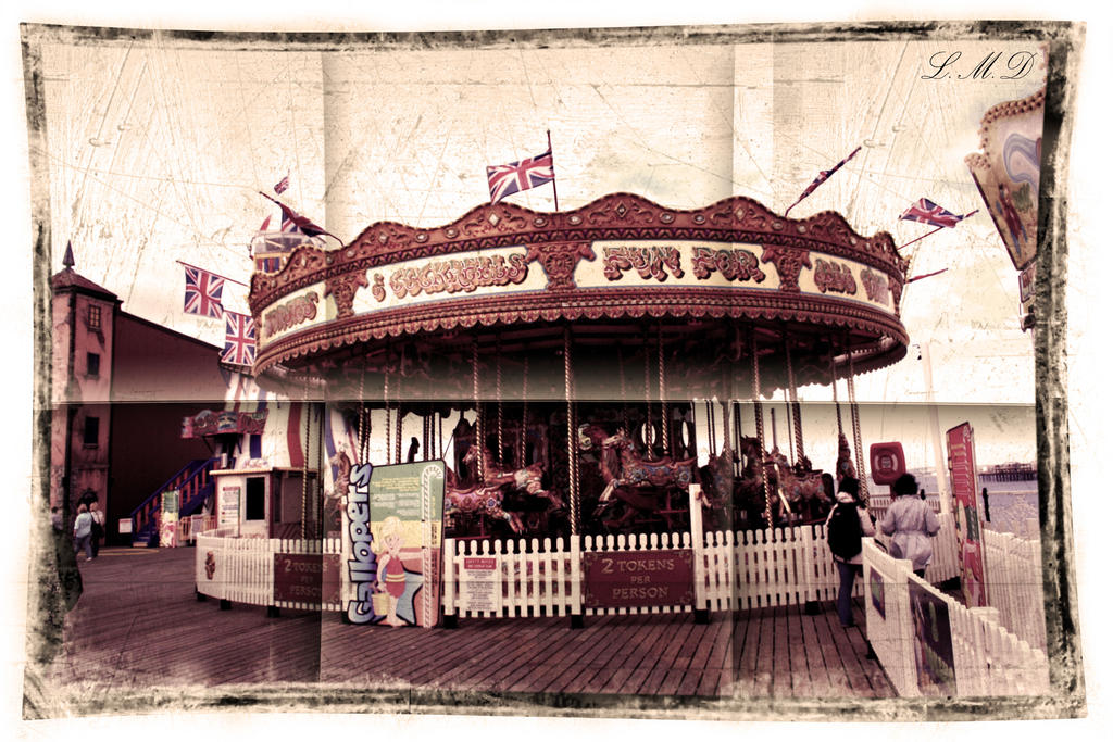 Brighton carousel by Suckstobeyourgirl