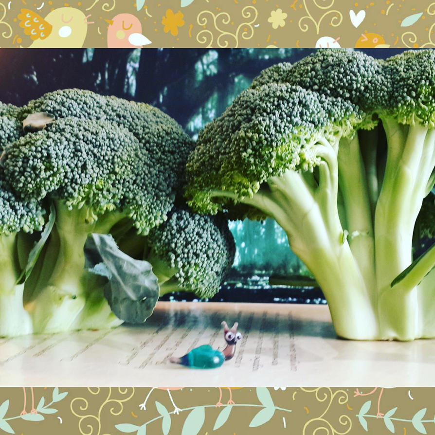 Broccoli Forest by Volatilite