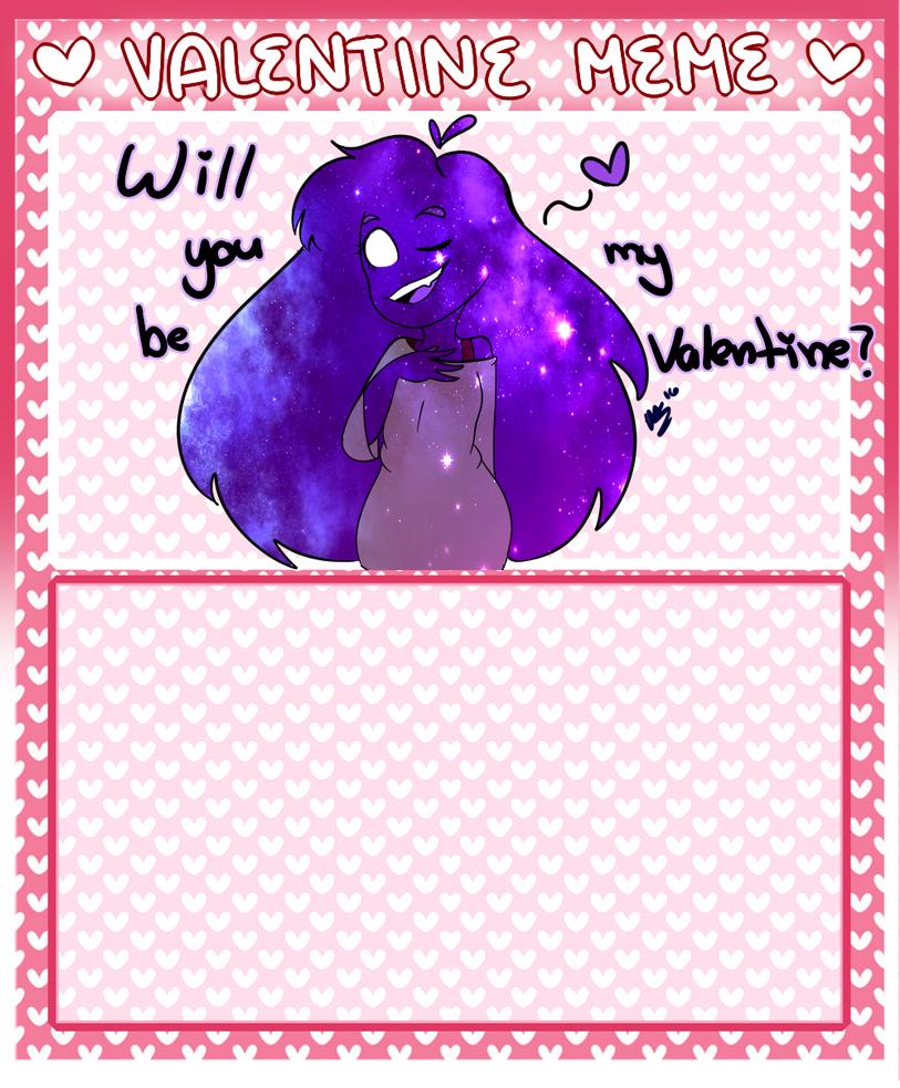 Valentines Day Meme with Space Mari by MarianaSpaghetti