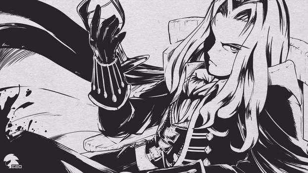 [Inktober] Alucard