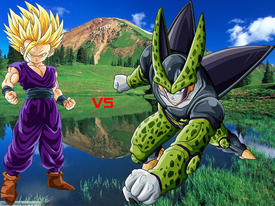 a review of gohan and cell game Named in honor of his grandfather, son gohan (aka sun wufan) is the firstborn son of goku even as a young child, gohan possessed hidden reservoirs of power that he could tap into when his anger is stoked.