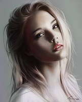 Portrait Practice #4 by Blue-Nite