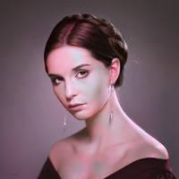 Portrait Practice #7 by Blue-Nite