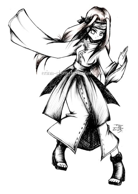 NARUTO OIROKE - Neji by Erina-chan