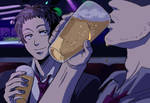 Drinking with Adachi