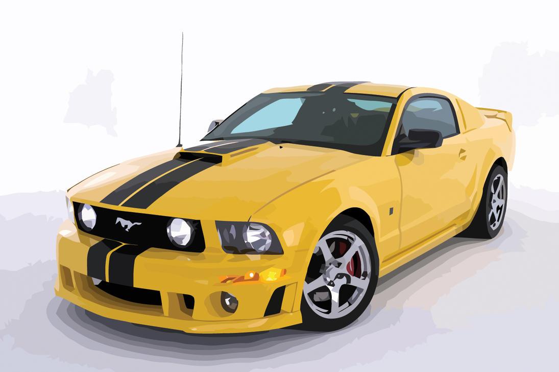 mustang vector by dominick ar on deviantart rh deviantart com 2006 Ford Mustang Maintenance 2006 Mustang GT Service Manual