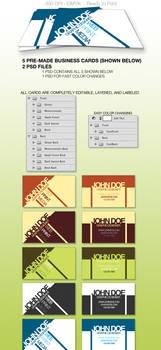 Cutting Edge Business Card