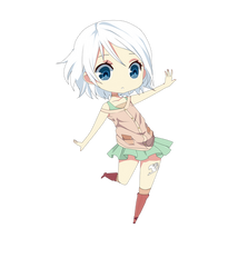 Fairy Tail - Lisanna Strauss [Chibi] by tsukiko12099