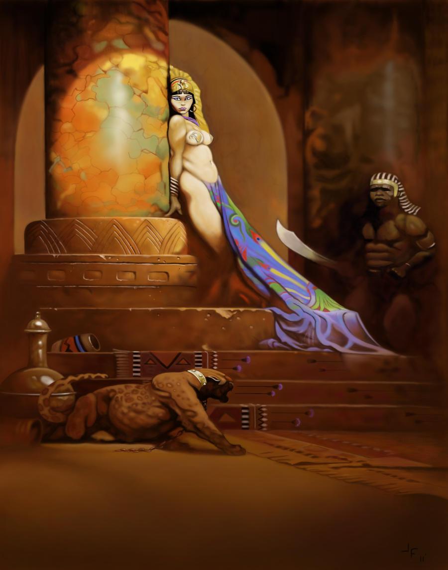 queen egyptian art wallpaper - photo #5